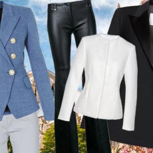 E' primavera: ecco 4 tailleur spezzati da indossare a fior di pelle