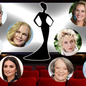 Scegli la tua attrice preferita tra queste dieci signore del cinema