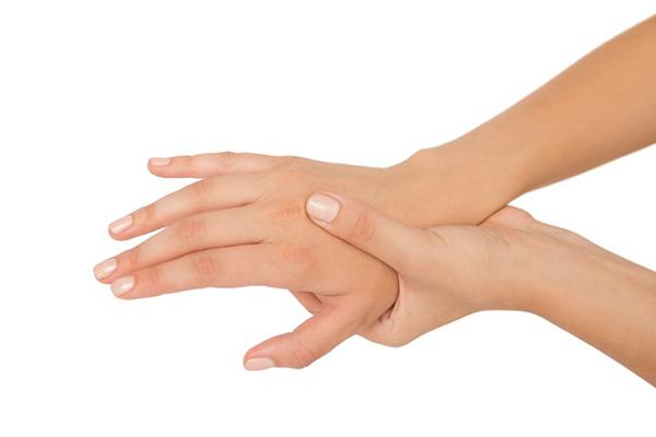 automassaggio mani